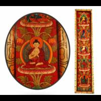 Déco Murale des 5 Bouddha