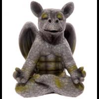 Dragon de jardin méditation yoga