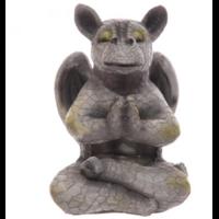 Dragon de jardin en méditation