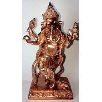 Ganesh Dansant Cuivre : Gold Rose