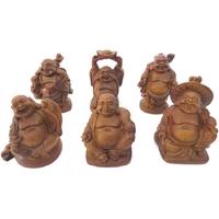 Bouddhas des six bonheurs effet Bois