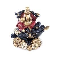 Bouddha et grenouille de richesse