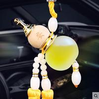 Amulette wu lou jaune : santé & richesse