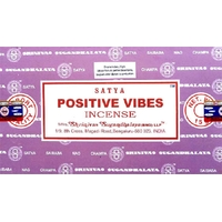 Lot de 12 boites d'encens Satya Nag Champa Vibrations Positives