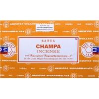 12 Bâtonnets Encens Satya Nag Champa
