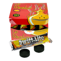 Lot de 80 charbons : Charbons Swift Lite Excelsior