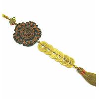 Amulette des six empereurs en bronze doré