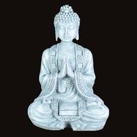 Bouddha effet pierre en méditation