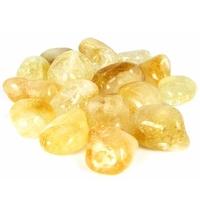 Lot de 8 pierres de citrine