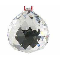Lot de 5 véritables boules de cristal Feng shui 4cm