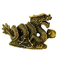 Dragon sacré en bronze