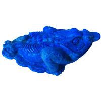 Grenouille de prospérité en pierre lapis lazuli