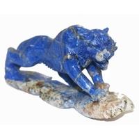 Tigre en lapis lazuli