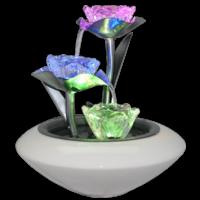 Fontaine cascade de lotus