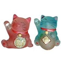 Duo de chats santé et prospérité