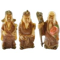 Fuk Luk Sau dieux des 3 bonheur en ivoirine