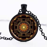 Pendentif Amulette : Sri Yantra