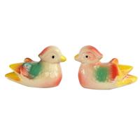 Feng shui Amour : couple de Canards céramique