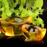 Lingot en cristal : Feng shui richesse