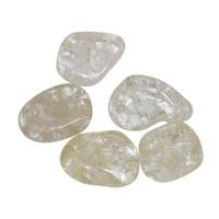 Lot de 8 pierres de cristal de roche