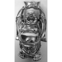 Bouddha de richesse Argent
