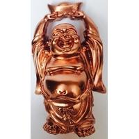Bouddha de richesse cuivre gold rose