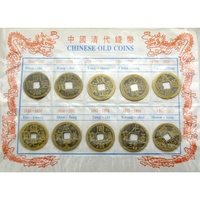 Collection de 10 pièces Feng Shui en bronze