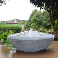 Fontaine ondes aquatiques