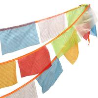 2.  drapeaux tibétains drapeaux priere tibet bouddhisme