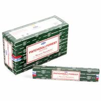 Lot de 12 boites d'encens Nag Champa Patchouli