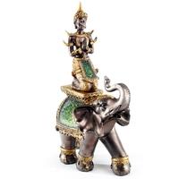 Bouddha thaï sur éléphant