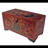 Coffret Tibétain - peint à la main – Eveil du Lotus