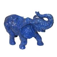 Eléphant en lapis lazuli