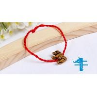 Bracelet porte bonheur : Bœuf ou Buffle