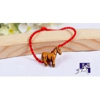 Bracelet porte bonheur : Cheval