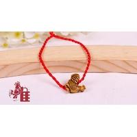 Bracelet porte bonheur : Coq
