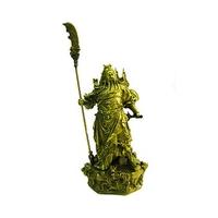 Kwan Kung, statuette dieu de richesse en bronze