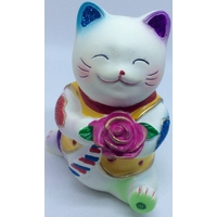 Maneki neko Rose d'Amour