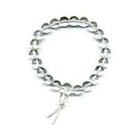 Bracelet porte bonheur : Mala en cristal (Purification et lâcher prise)