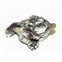 Amulette grenouille de richesse