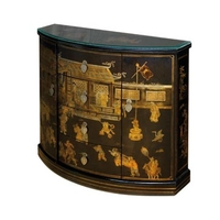 Commode Demi-lune style Nuit de chine