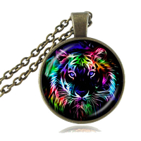 Pendentif tigre astrologie chinoise