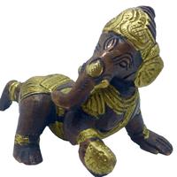 Bébé Ganesh bronze 10 cm