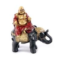 Bouddha de richesse sur éléphant