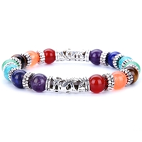 Bracelet 7 Chakras : Méditation