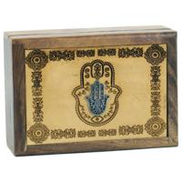 Boite à tarots en bois : voyance