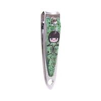 Coupe-ongles kokeshi vert