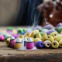 2.Encens-Parfum-Aromathérapie-Cones-Encens-Santal-Encens-Tibétain
