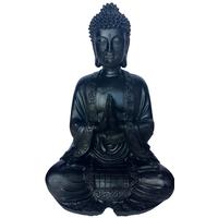 Grand bouddha Noir en méditation