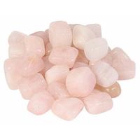 Jeu de 8 pierres de quartz rose